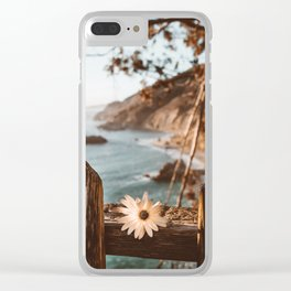 Big Sur Love Clear iPhone Case