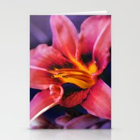 lily Stationery Cards featuring  Lily. by Mary Berg