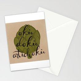 Okie Dokie Artichokie Stationery Cards