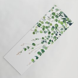 Eucalyptus Watercolor Yoga Mat