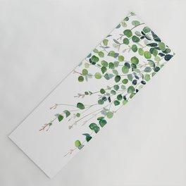 Eucalyptus Watercolor Yoga Mat
