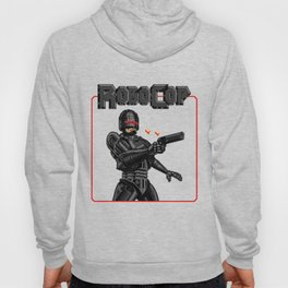 Black Robocop Remix Hoody