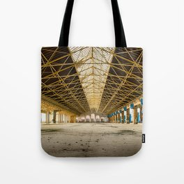 Courteous Leg Extension Tote Bag