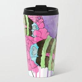 Hornbill Skull - Rainbow Travel Mug