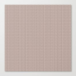 Knitted spring colors - Pantone Pale Dogwood Canvas Print