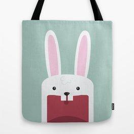 Jawdrop Bunny Tote Bag