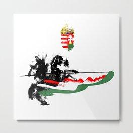 Hungarian Hussar Metal Print