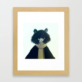 Warm Fur Framed Art Print