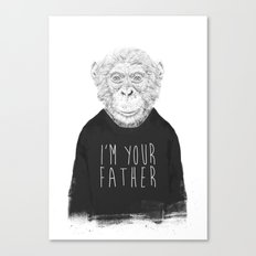 I'm your father Canvas Print
