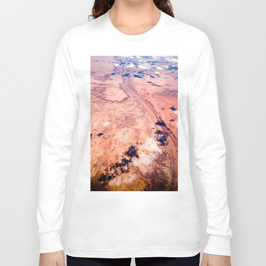 On Sky Seeing the Desert Long Sleeve T-shirt