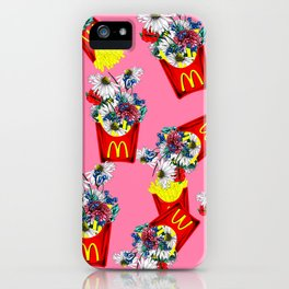 Botanical Mcdonalds Sweet Pale-Rose iPhone Case