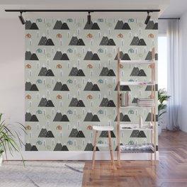 Winter Mountain Wall Mural