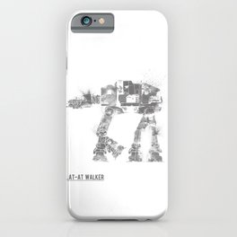 Star Wars Vehicle AT-AT Walker iPhone Case