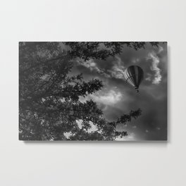 To the clouds Metal Print