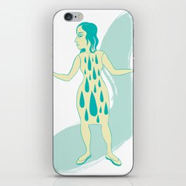 Watergirl iPhone Skin