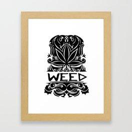 Krown Tha Ces Framed Art Print