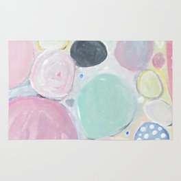 Mixed Lollies Abstract Rug