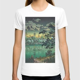 Tsuchiya Koitsu - Ueno Shinobazu Pond - Japanese Vintage Woodblock Painting T-shirt