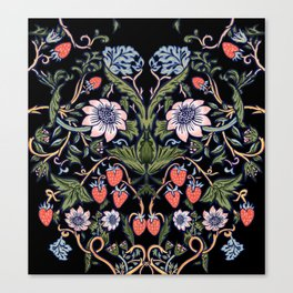 Strawberry Tapestry Canvas Print
