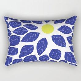 moon leaves Rectangular Pillow