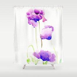 Hungarian Blue Shower Curtain