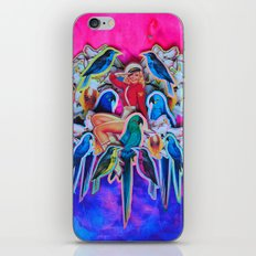 Parrot Party iPhone & iPod Skin