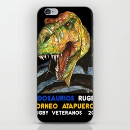 INDOSAURIOS RUGBY iPhone Skin