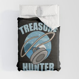 Magnet Fisherman Fishing Treasure Hunter Gift  Comforters