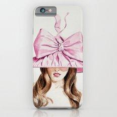 Pink Derby Hat Slim Case iPhone 6s