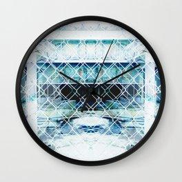 city disrepair Wall Clock