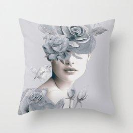 Spring (portrait) Throw Pillow