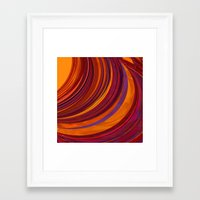 gypsy Framed Art Prints featuring Gypsy by Orton and Ball