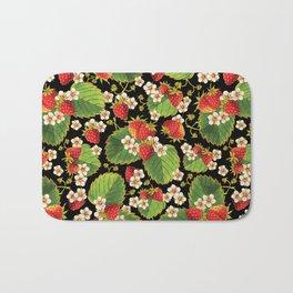 Strawberries Botanical Bath Mat