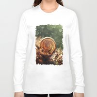 forrest Long Sleeve T-shirts featuring Magic forrest by Jablam