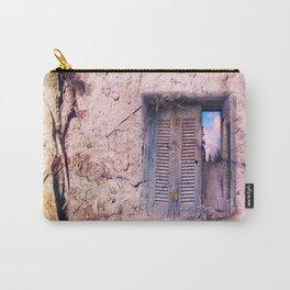 SOUL WINDOW - conceptual composing with old wall and open window Carry-All Pouch