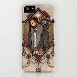 A moment of contemplation iPhone Case