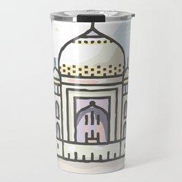 India - Taj Mahal Travel Mug