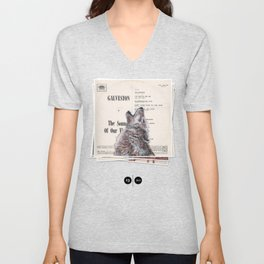 His Master's Voice - The Wolf Unisex V-Neck