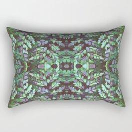 Forest Maidenhair Fern Rectangular Pillow