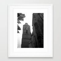 poland Framed Art Prints featuring Lubin, Poland by MartaJ