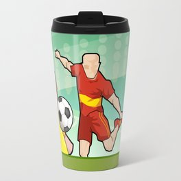 Soccer game Travel Mug