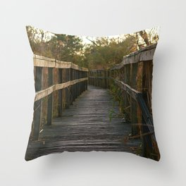 To the Sound Throw Pillow