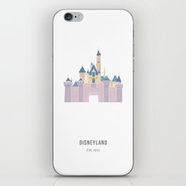 Disneyland / Sleeping Beauty's Castle iPhone Skin