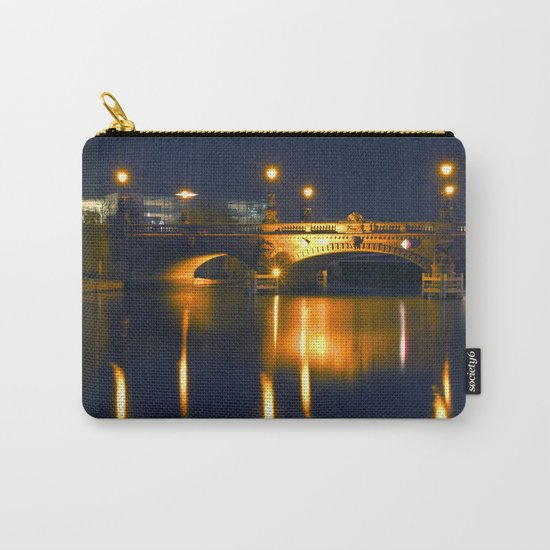 BERLIN NIGHT on the RIVER SPREE Carry-All Pouch