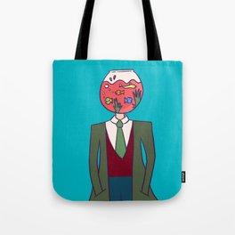 The Fishbowl Man Tote Bag