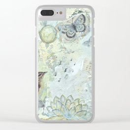 The lightness of nature Clear iPhone Case
