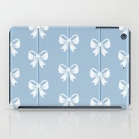 bows iPad Cases featuring Bows by Pink Berry Patterns