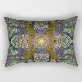ANCIENT PEAR TREE MANDALA Rectangular Pillow