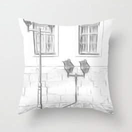Bakerstreet Throw Pillow