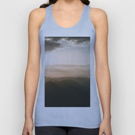 Mountain Sunrise in the german Alps - Landscape Photography Unisex Tank Top